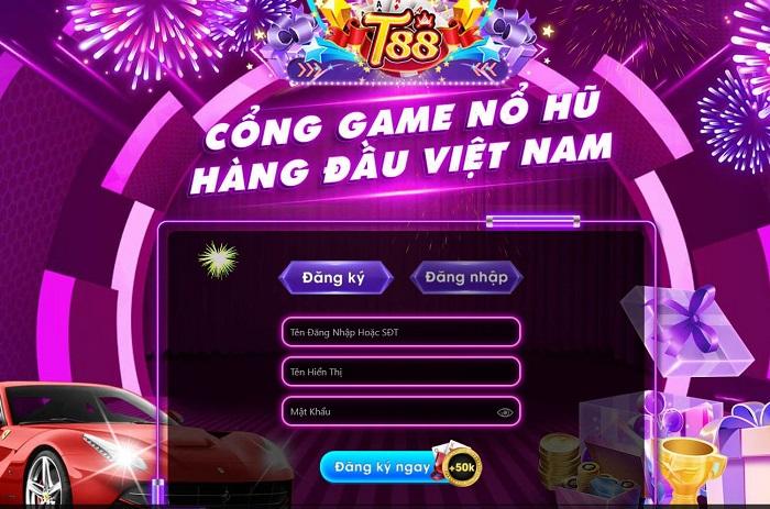 cổng game đổi thưởng t88
