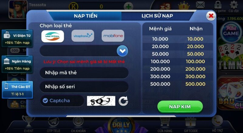 cổng game bài bạch kim club