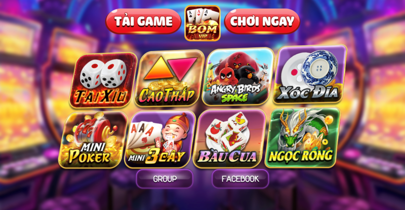 cổng game boom 24h