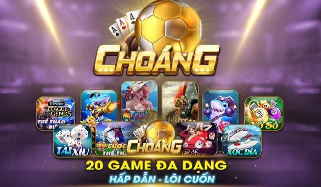 cổng game đổi thưởng choáng club