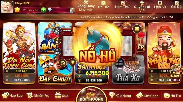cổng game slot đổi thưởng nổ hũ 79