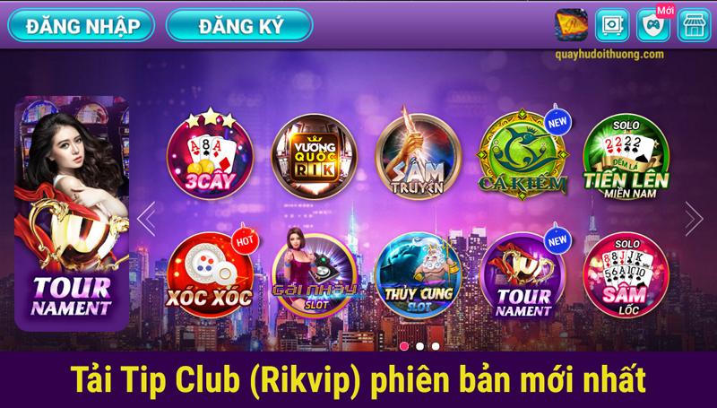 cổng game bài online đổi thưởng rikvip club