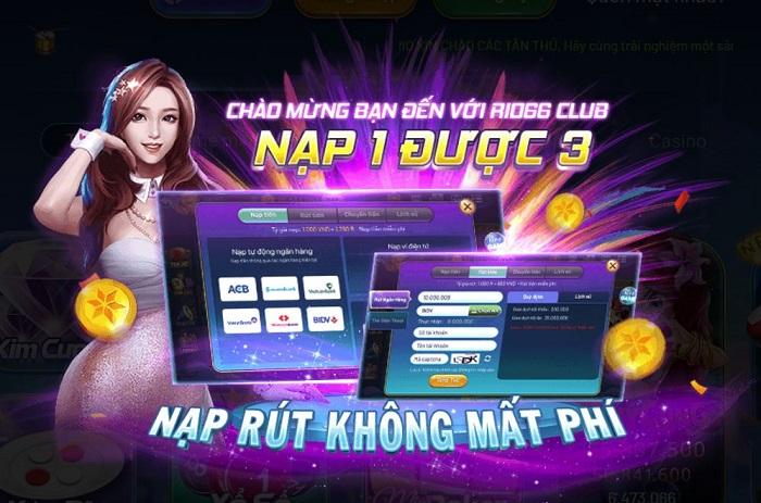 cổng game rio66 club