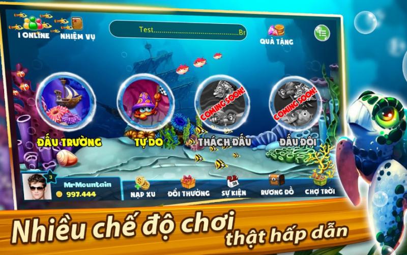 game bắn cá trùm cá vàng online