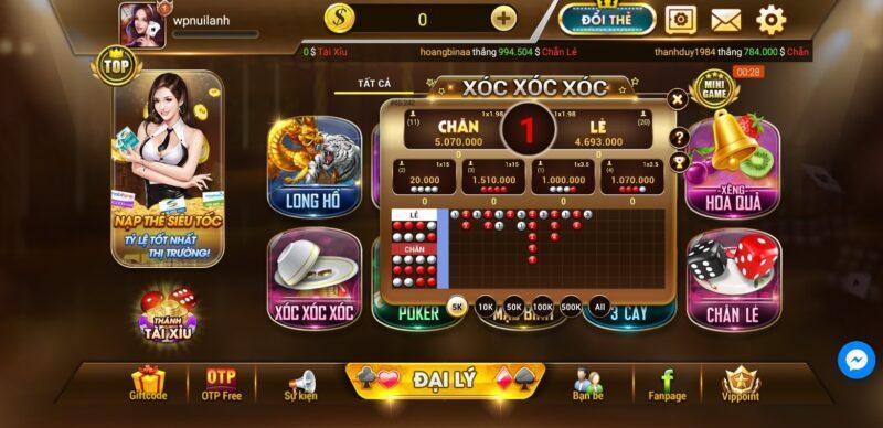 cổng game đổi thưởng tx 79