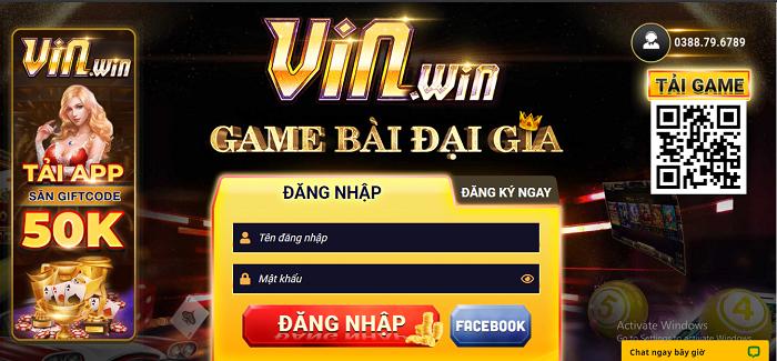 cổng game vin88