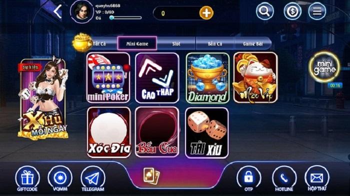 Những tính năng nổi bật của cổng game Xeeng Club