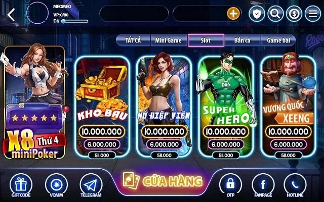 Khám phá kho game vô cùng đặc sắc của Xeeng Club