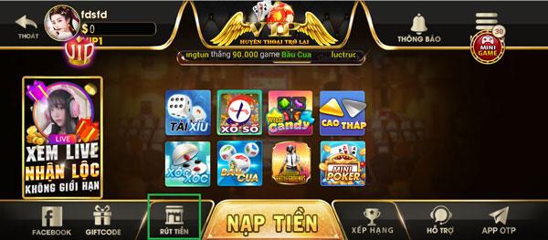 các sản phẩm game zen789 club