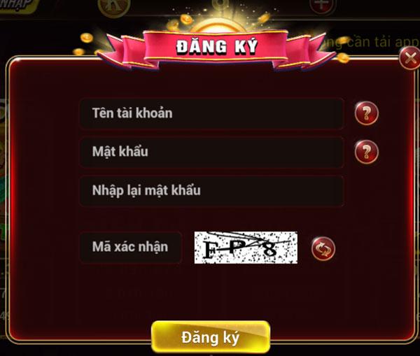 đăng ký tài khoản game kingviet