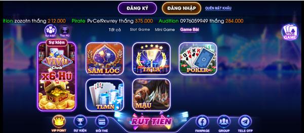 game bài vivu club