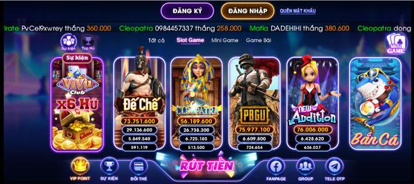 game slot vivu club