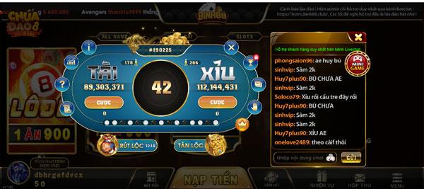 mini game binh88