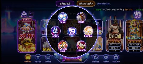 game mini vivu club