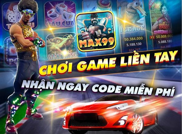 tặng giftcode max99