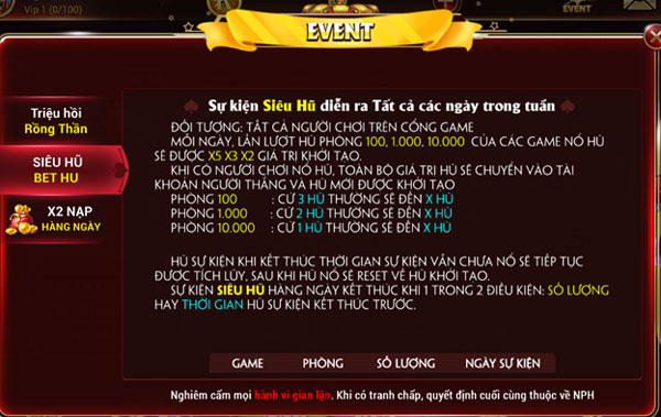 event game kingviet