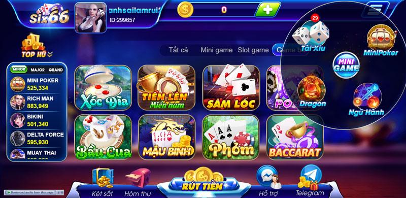 kho game six66 club