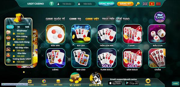 game bài usdt casino