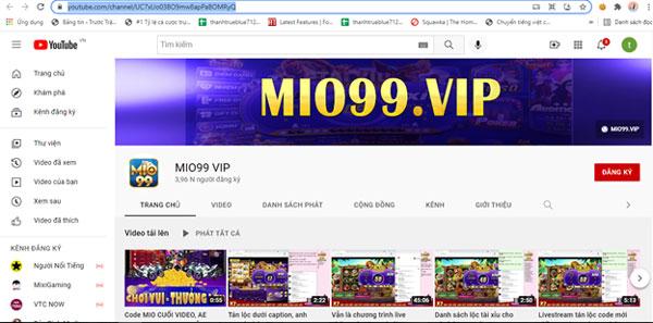 youtube mio99