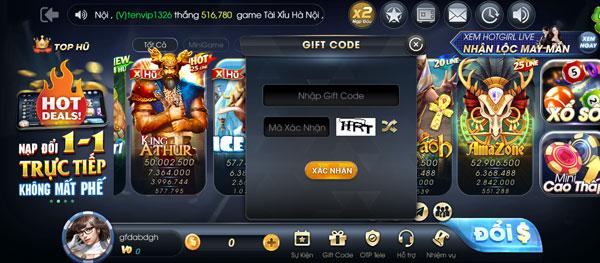 giftcode bigvip